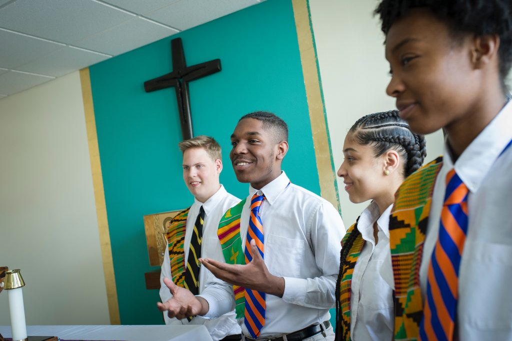 Cristo Rey student ministry event