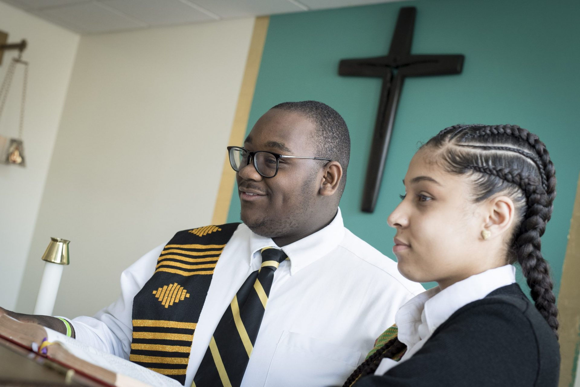 Students Pictured in CRJ Chapel